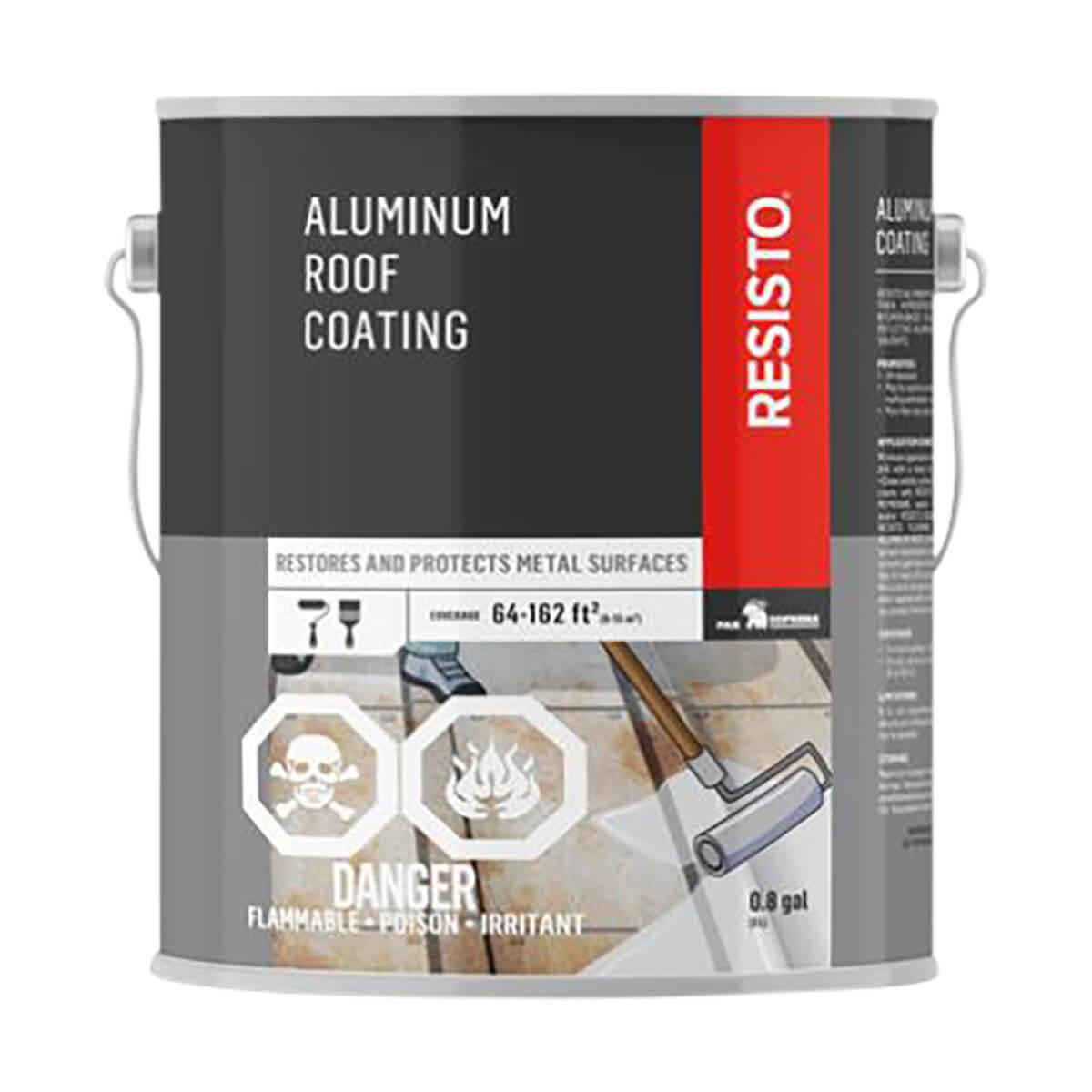 Resisto Aluminum Roof Sealant - 3 L