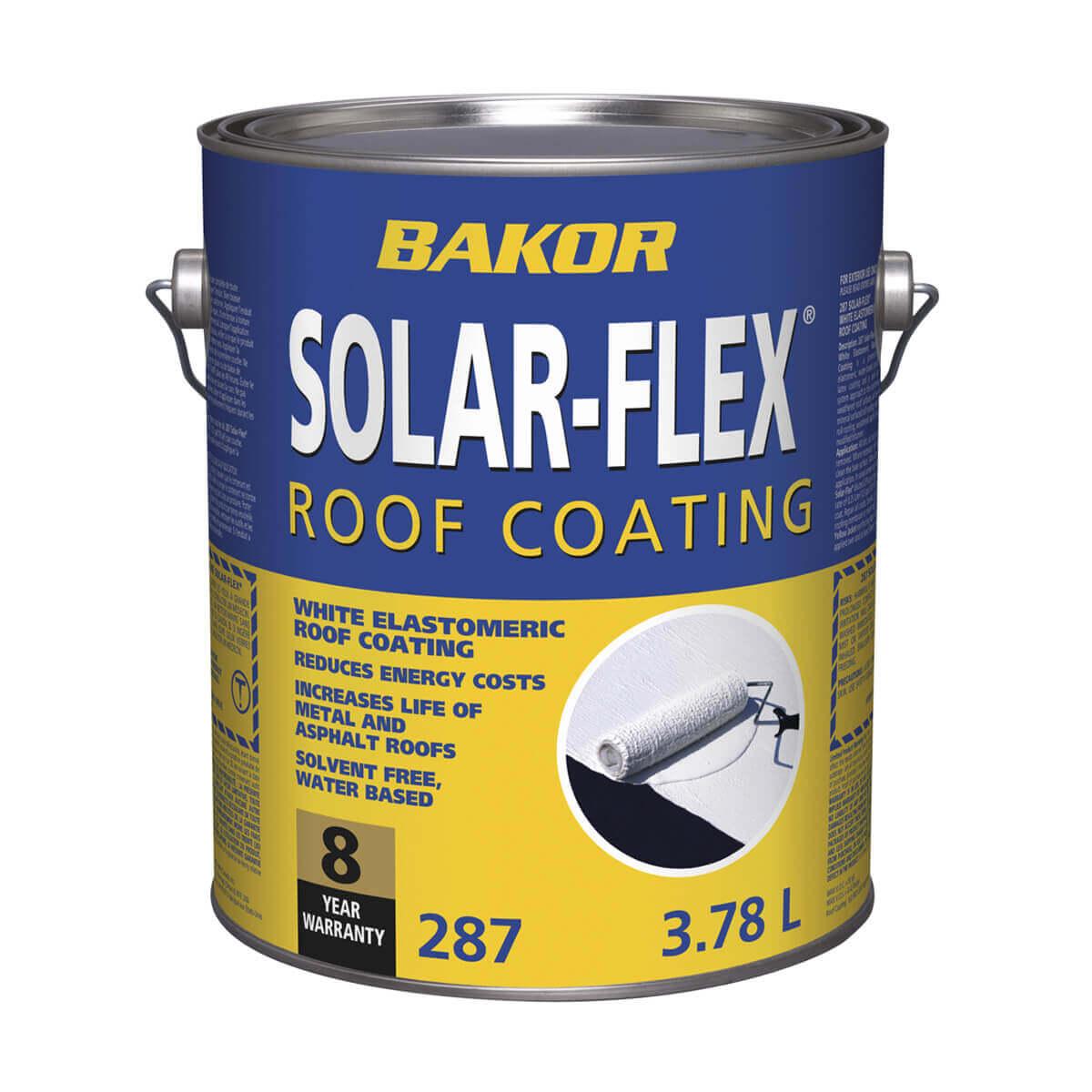 Bakor Solar-Flex Roof Coating - 3.78 L