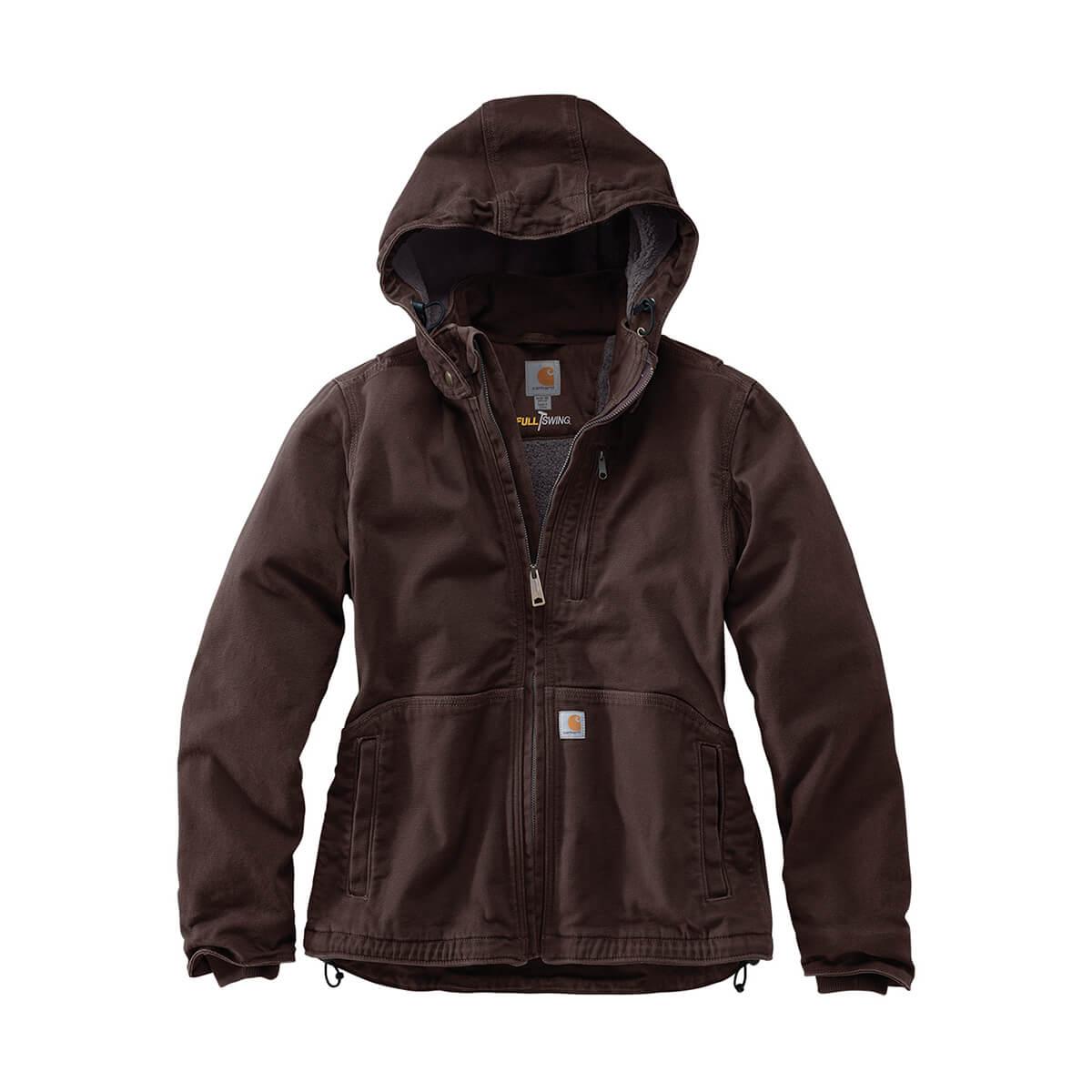 Carhartt Full Swing® Caldwell Jacket - Dark Brown