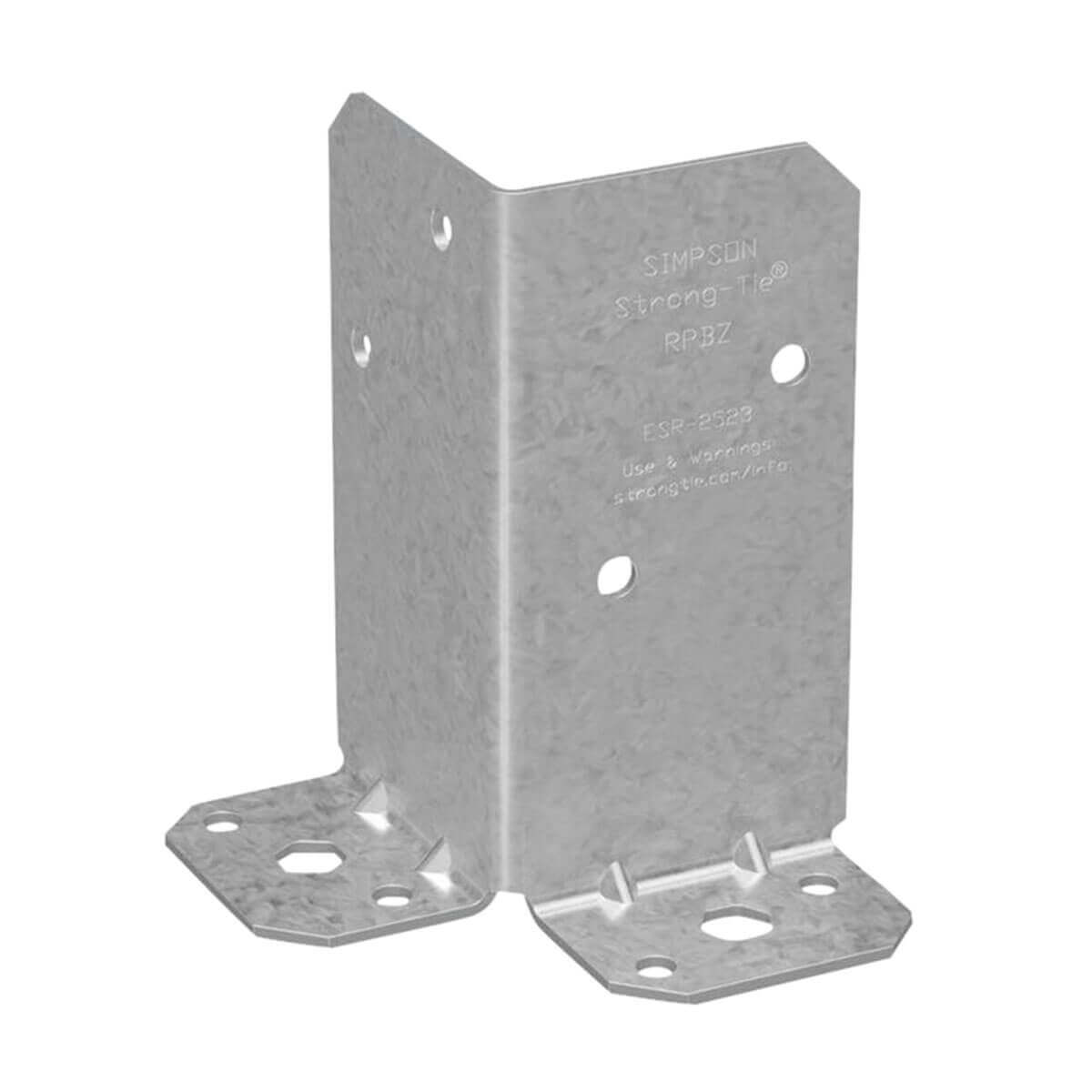 Z-MAX Retrofit Galvanized Steel Post Base