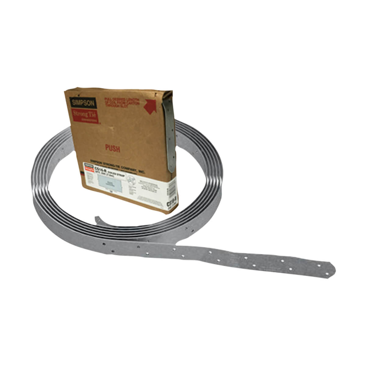 Simpson Strong Tie CS14-R 14 Gauge - Coiled Strap - 25-ft