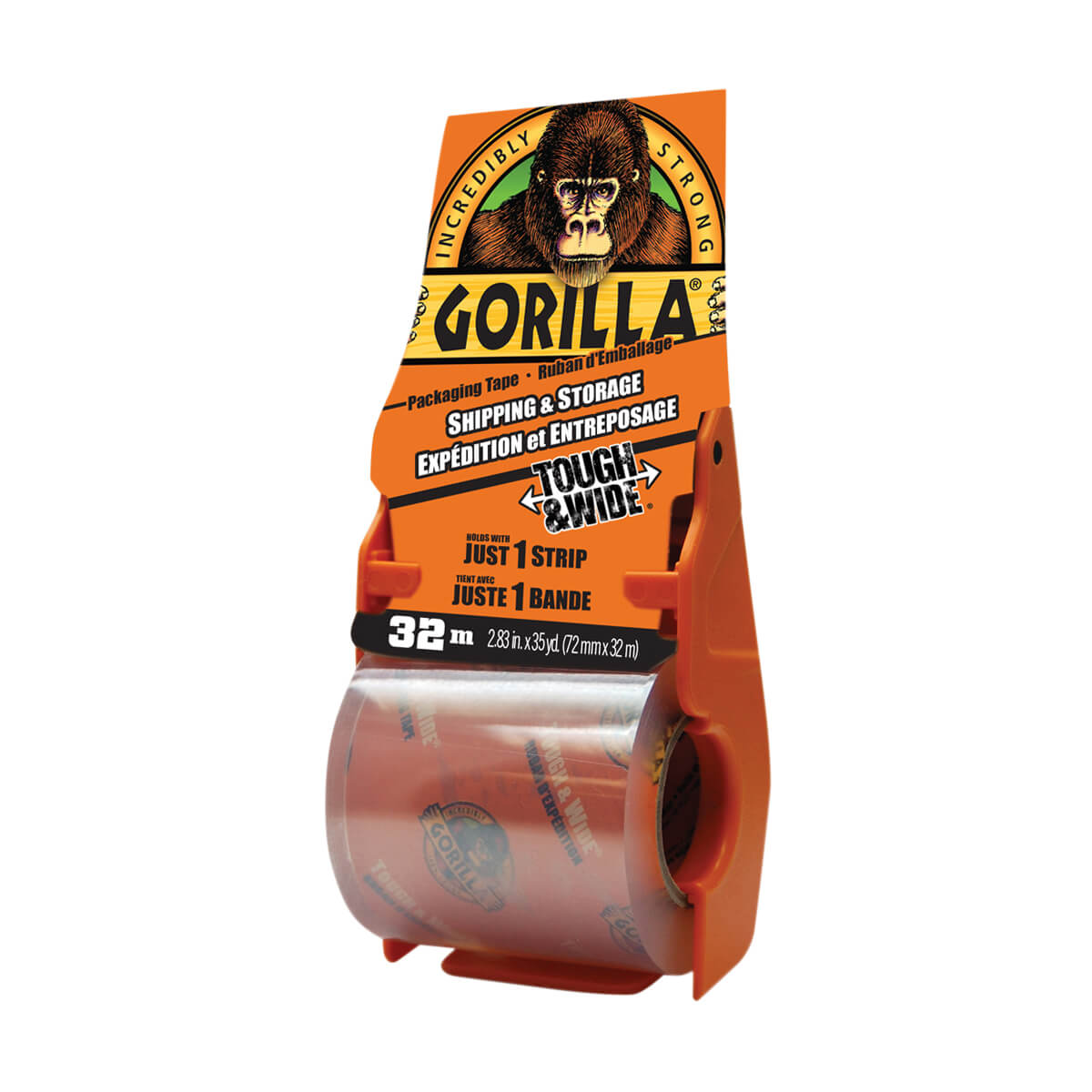 Gorilla  Packing Tape with Dispenser