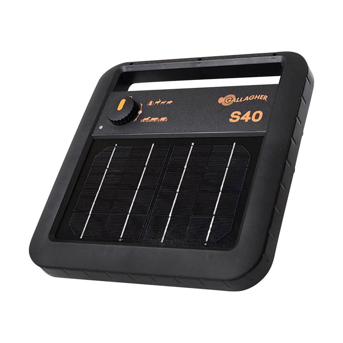 Gallagher Solar Fence Energizer S40