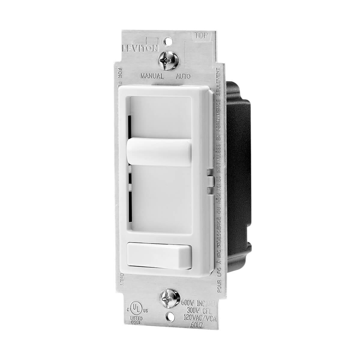 Leviton® Decora Universal LED Dimmer - White