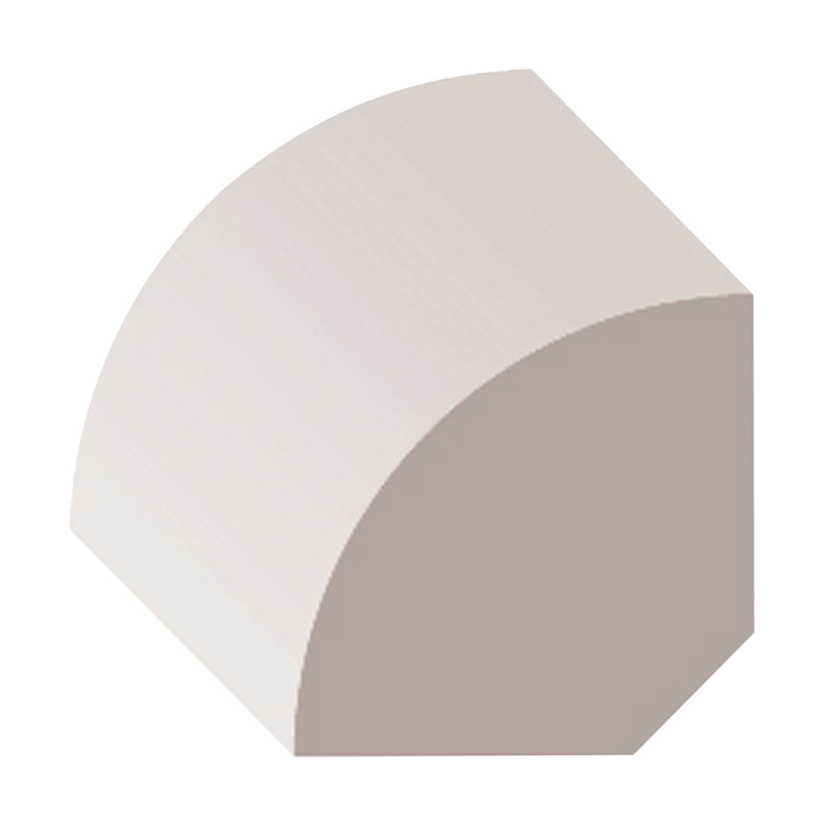 1/2-in x 1/2-in Primed Finger Joint Quater Round