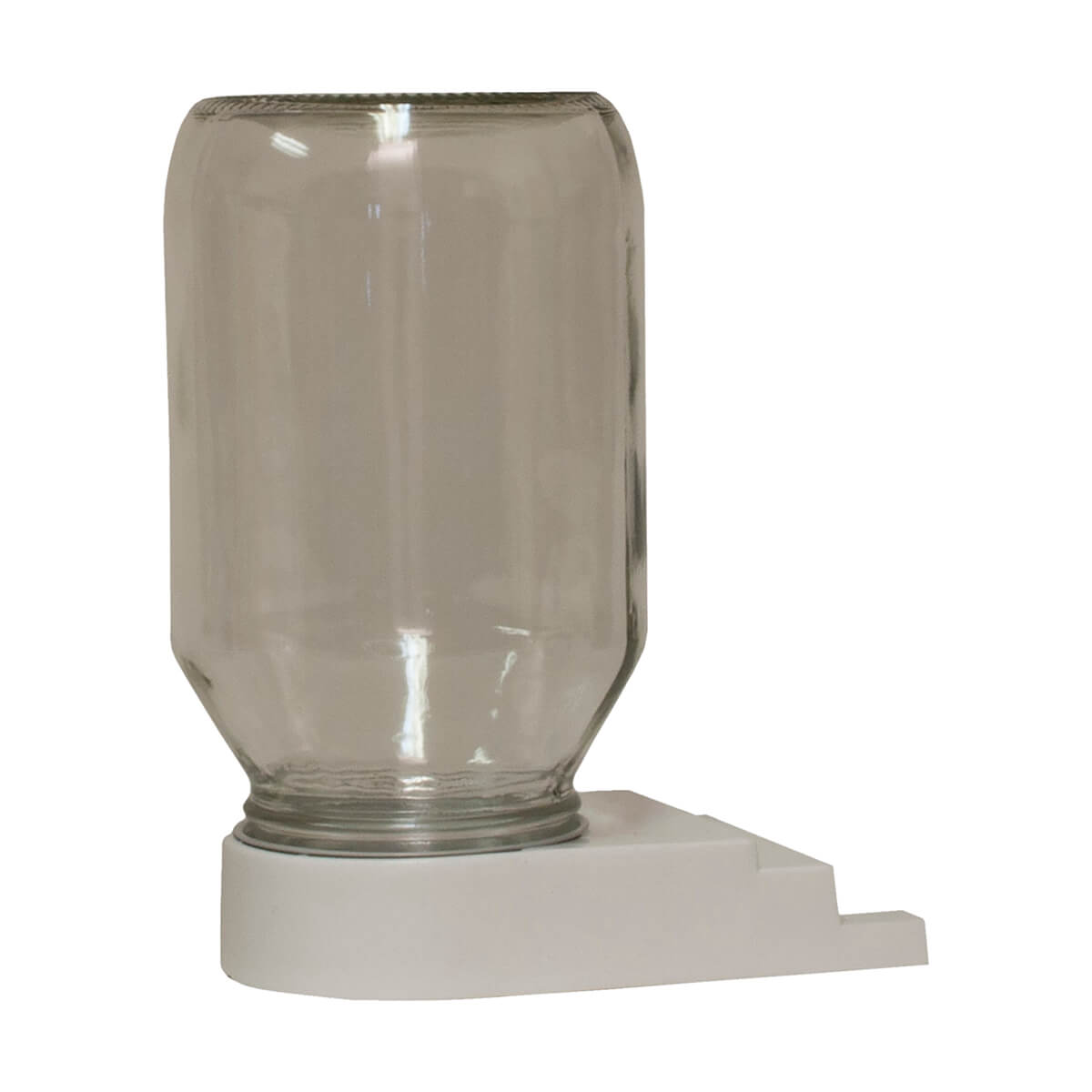 Harvest Lane Honey FEEDBBG-102 Honey Bee Entrance Feeder with Jar - 1qt