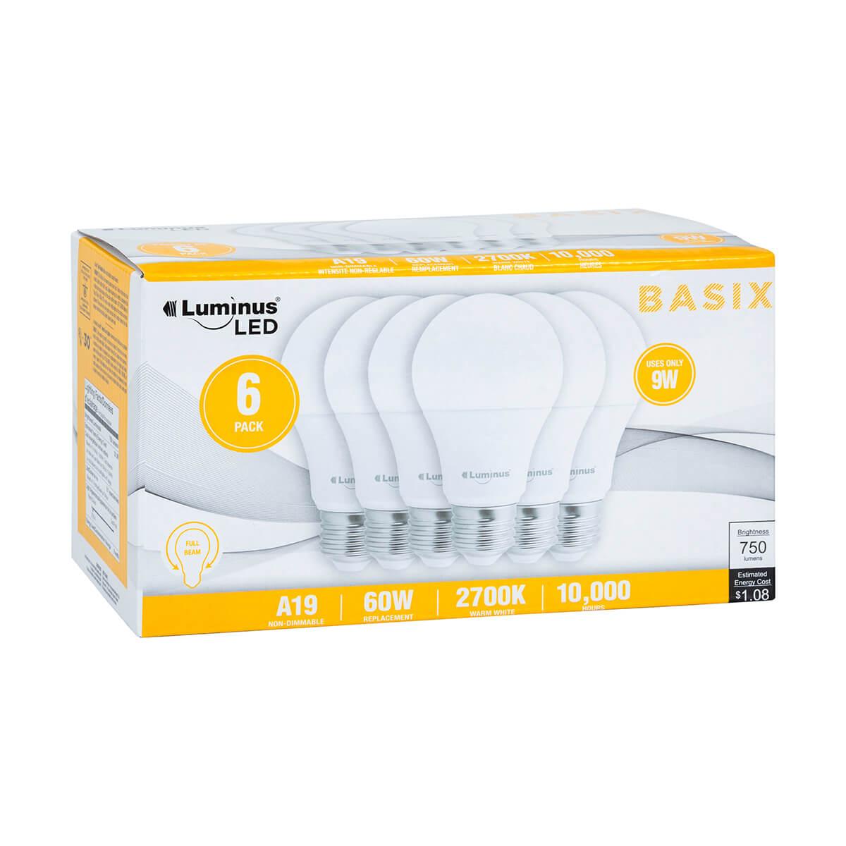Luminus LED Light Bulbs - Soft White - 6 Pack