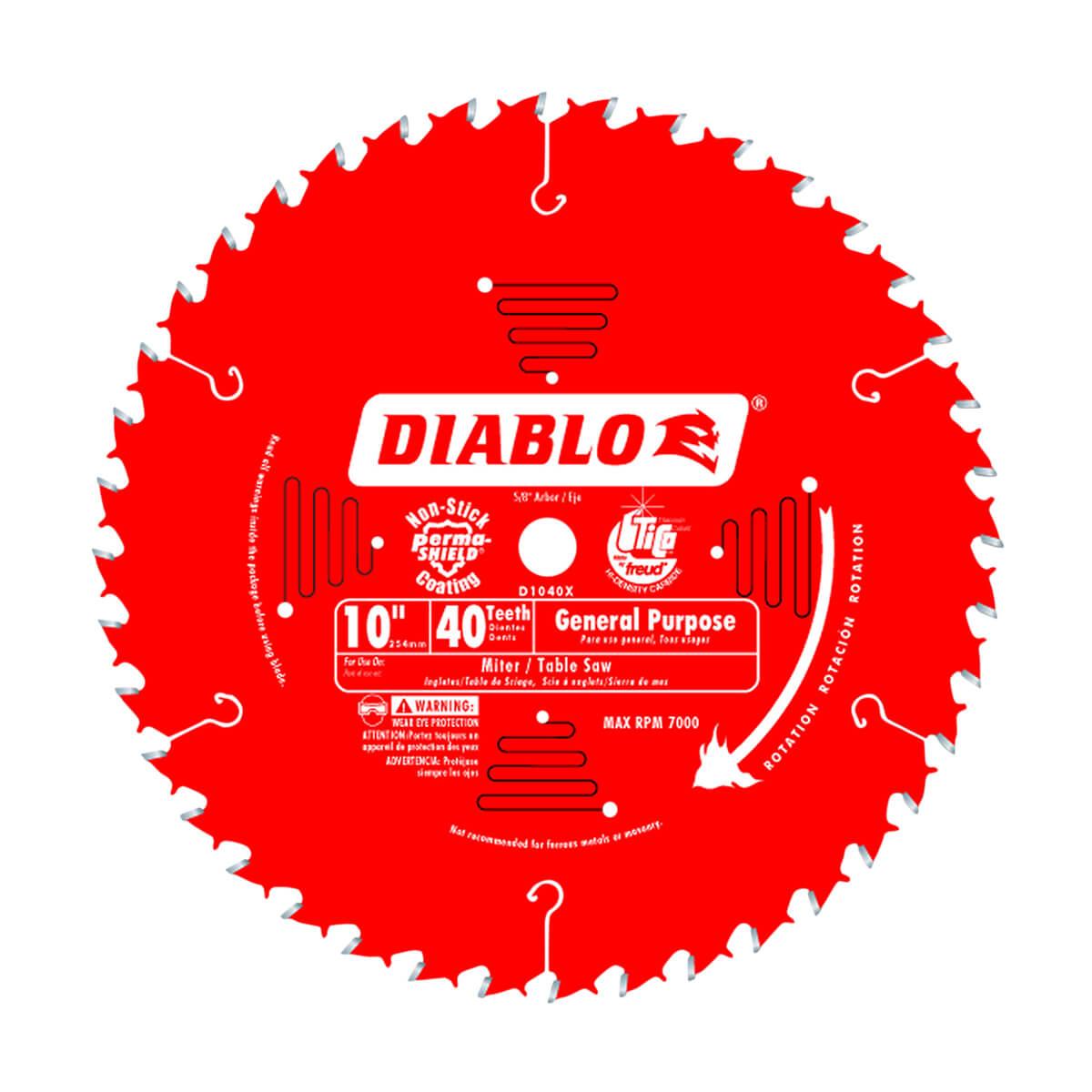"10"" Diablo General Purpose Blade"