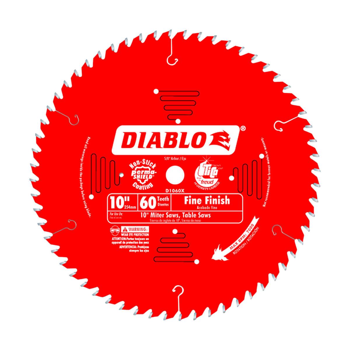 "10"" Diablo Finishing Blade"