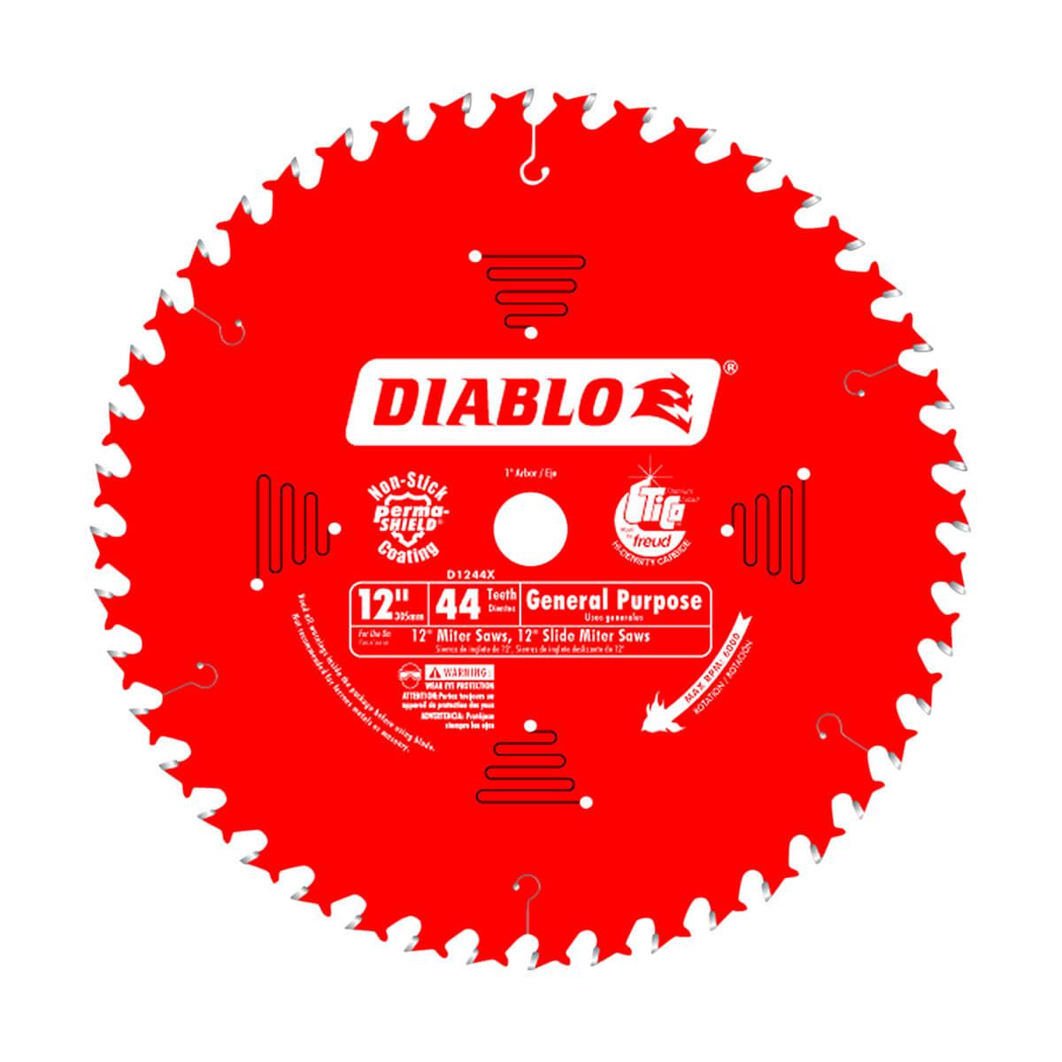 "12"" Diablo General Purpose Blade"