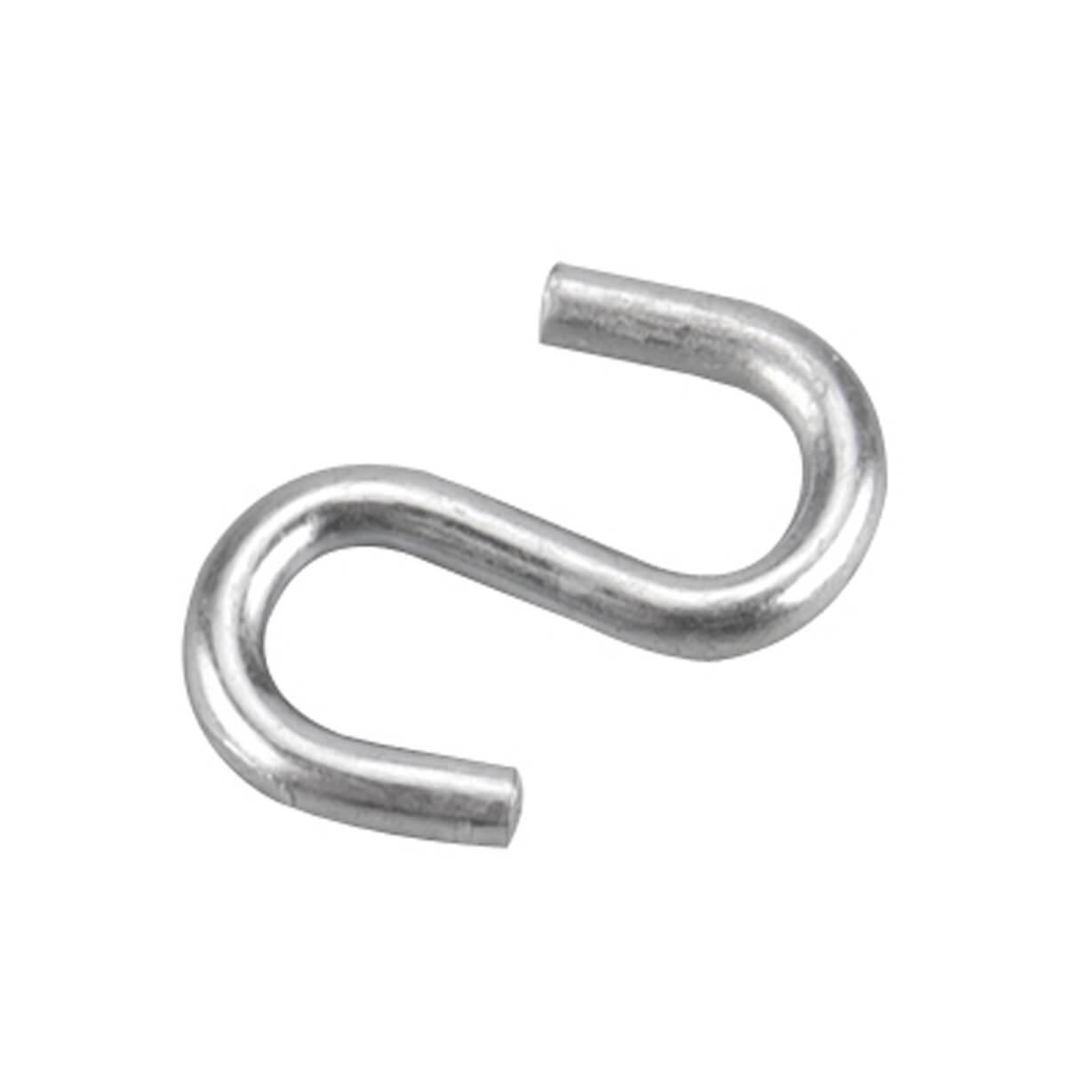 "S-Hook - Zinc - 1"""