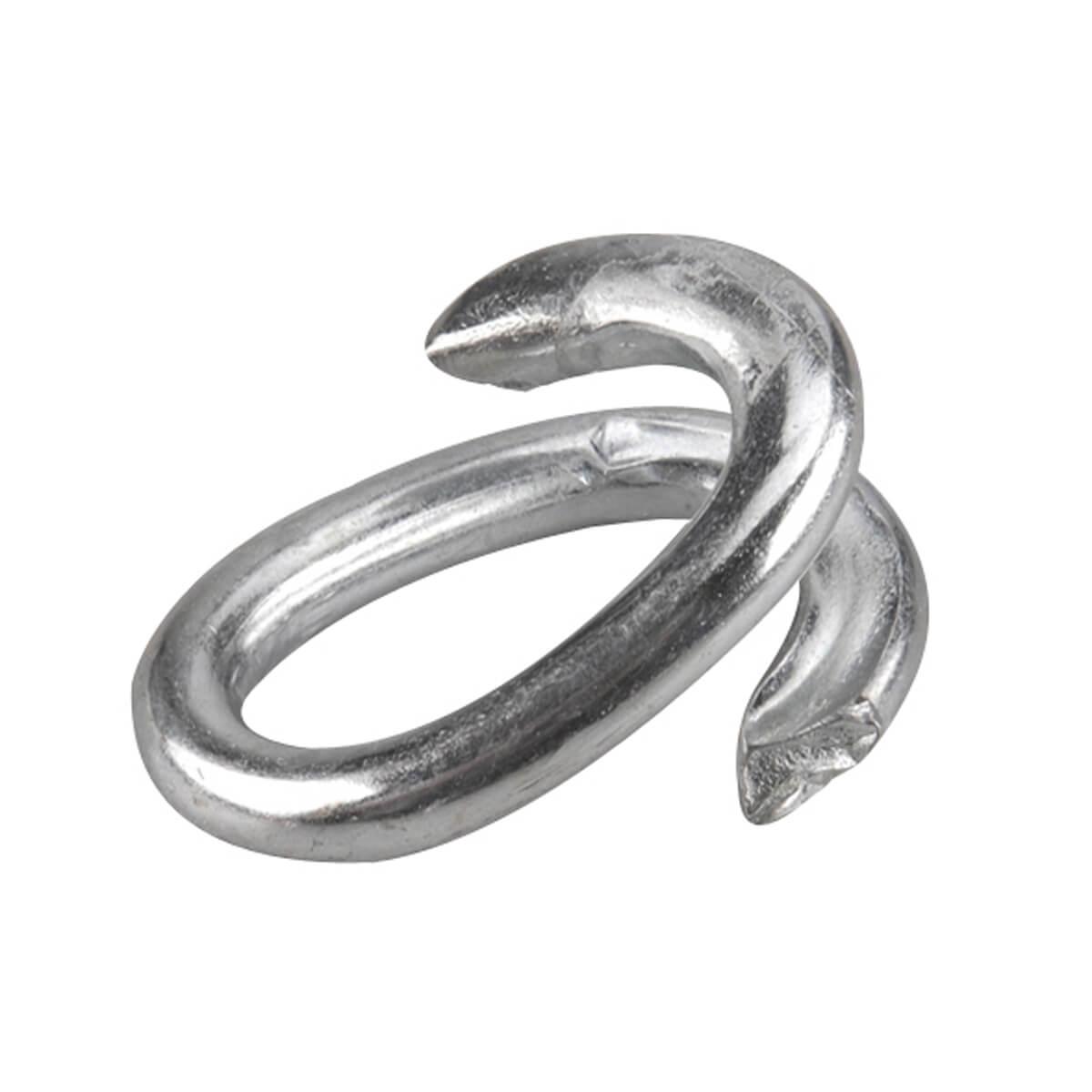 Split Link - Zinc - 1/4-in