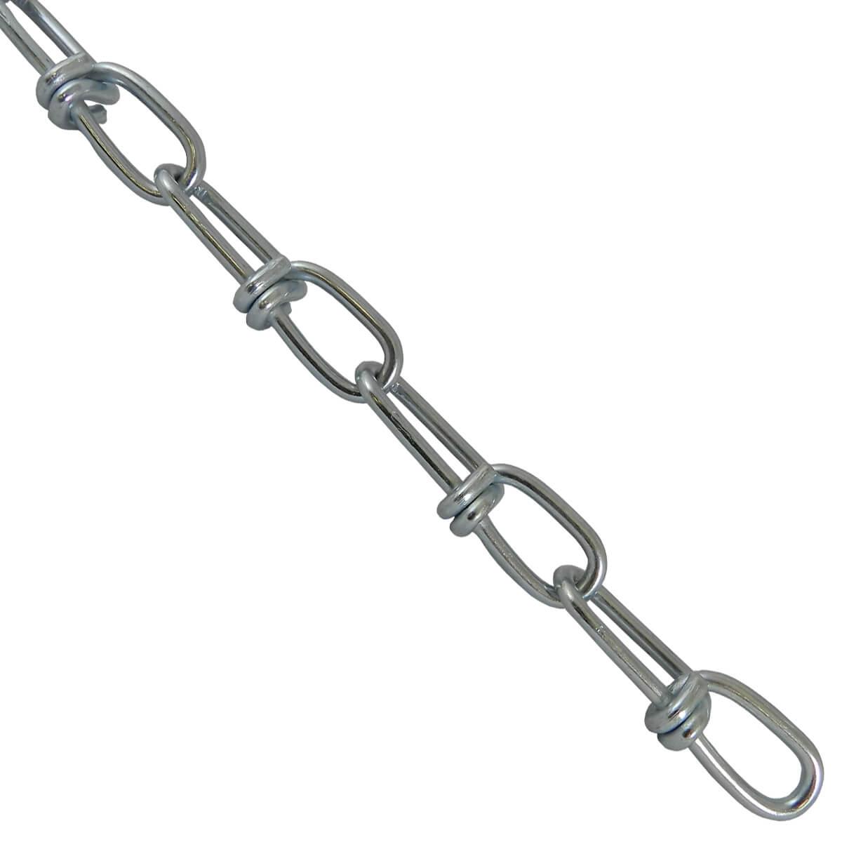 Double Loop Chain - 2/0 - Price / ft