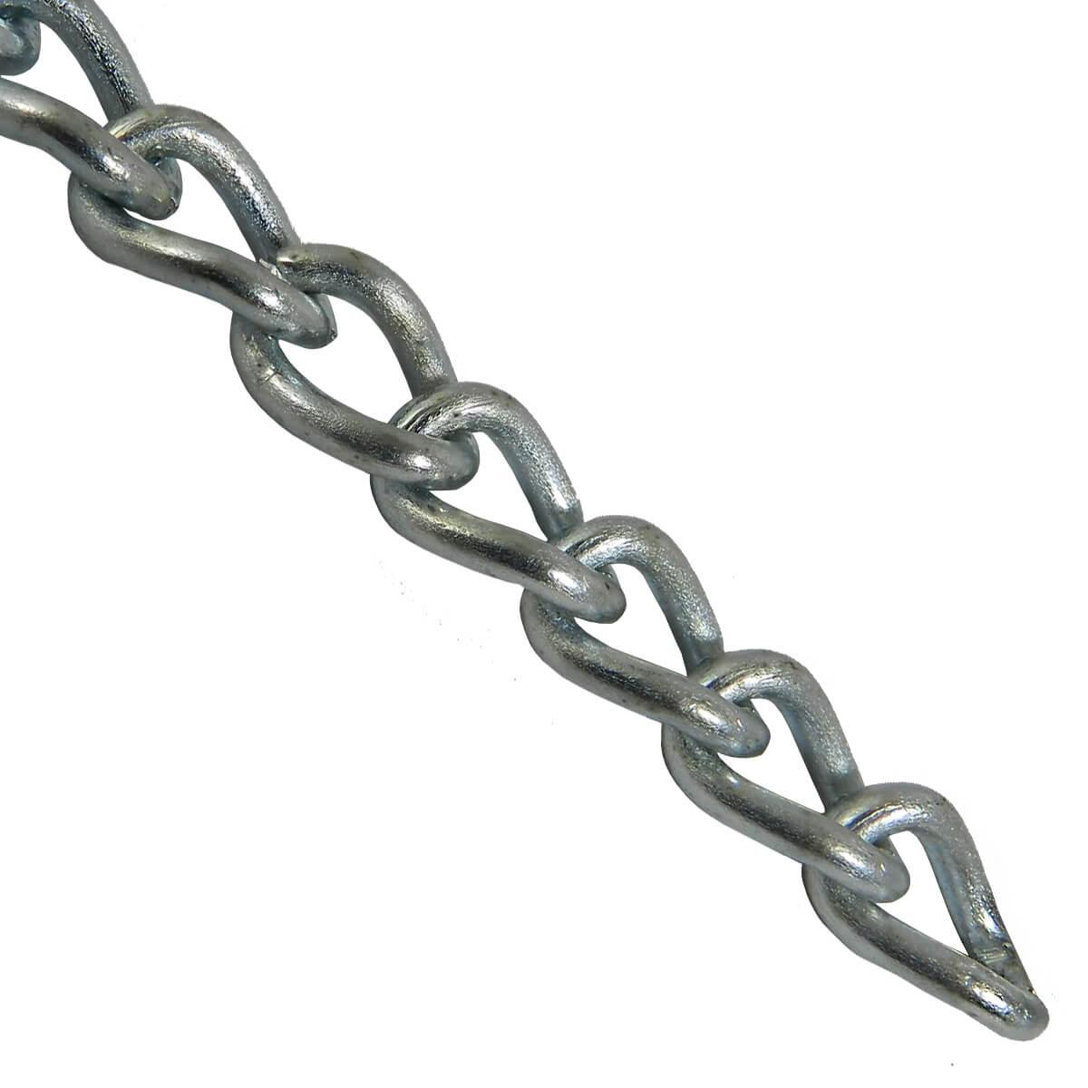 Machine Twist Chain - 2/0 - Price / ft