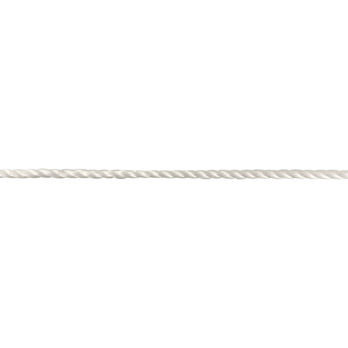 Nylon Twisted Mason Rope - White - #18 x 500-ft