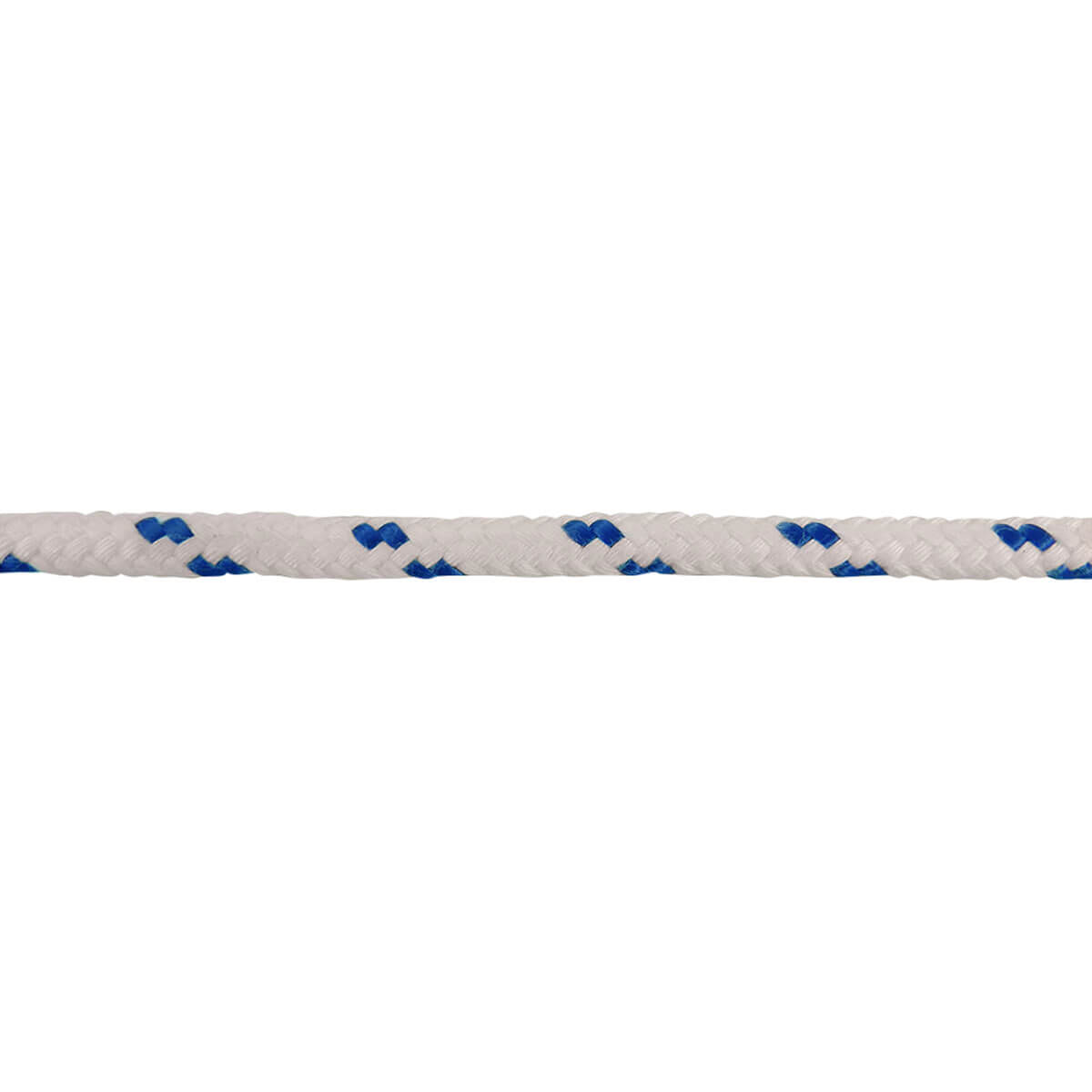 Polyester Clothesline - Blue/White - 1/4-in x 100-ft