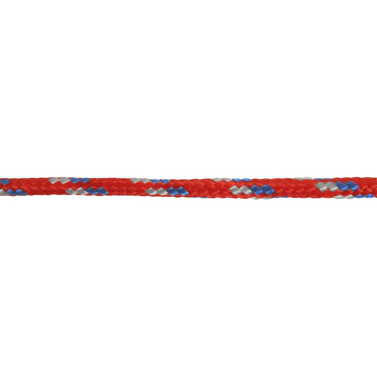 Polypropylene Diamond Braid Rope - Varied - 3/8-in x 50-ft