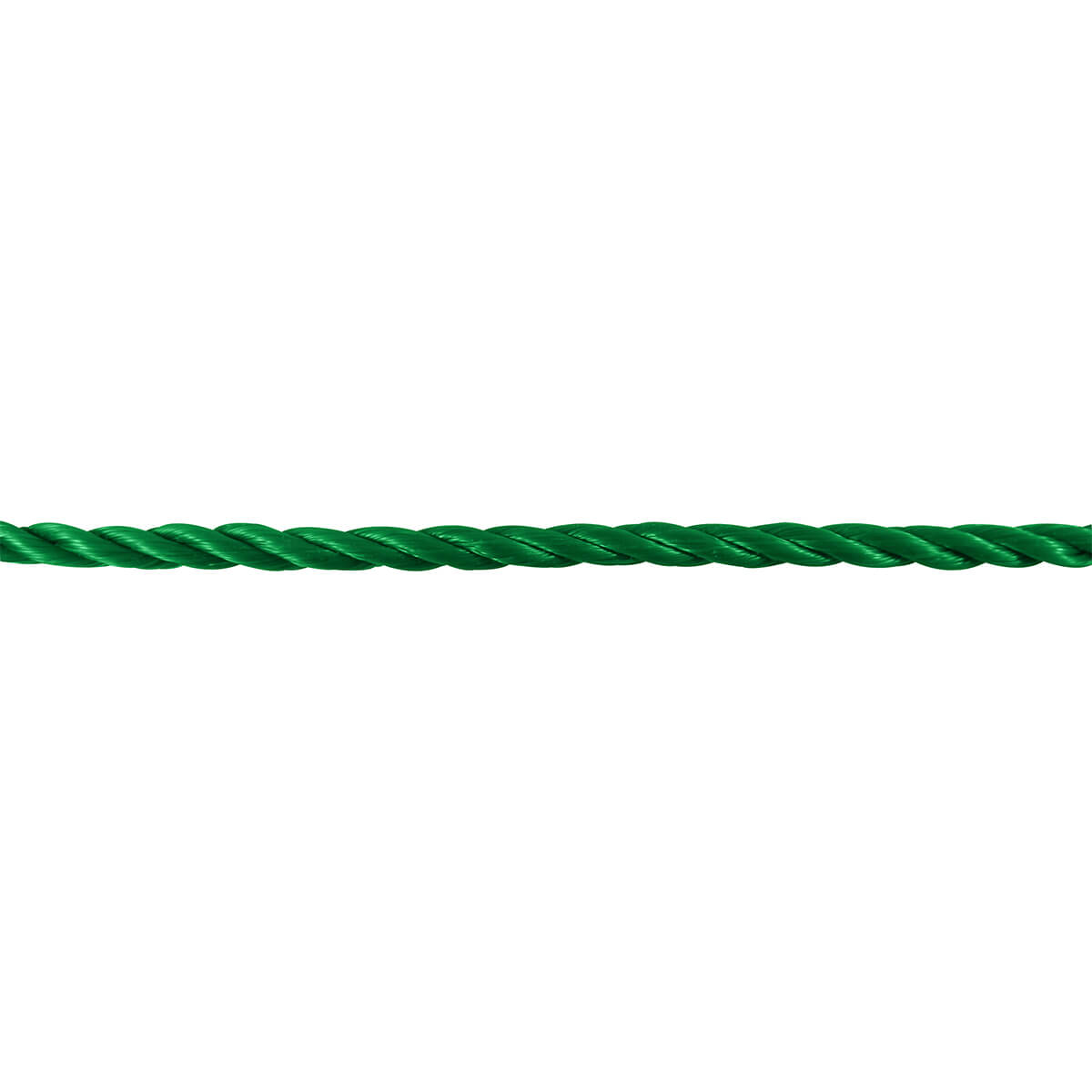 "1/2"" x 50' Polypropylene Twisted Rope - Green - 1/2"" x 50'"