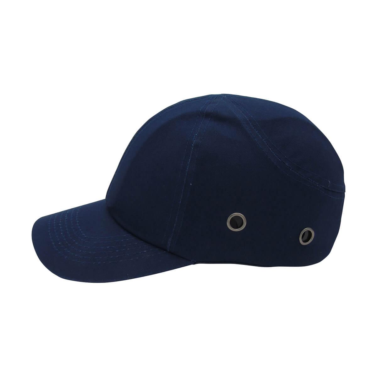 Baseball Cap-Style Bump Cap - Navy Blue
