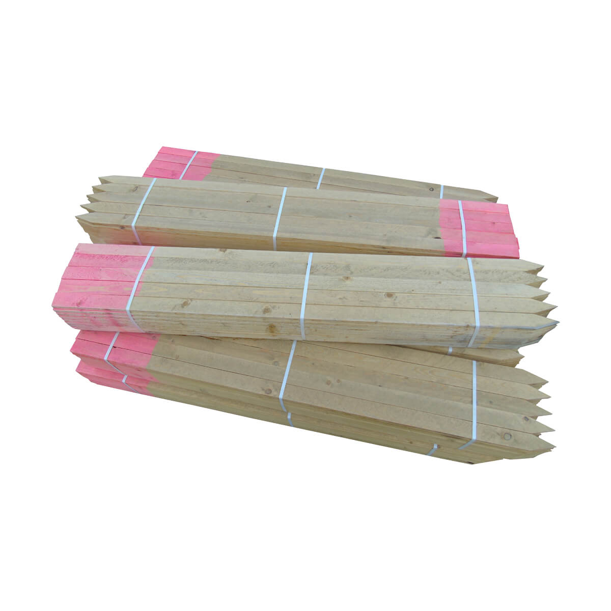 Sharpened Painted Lath - 1/2 x 48-in - Pink Top
