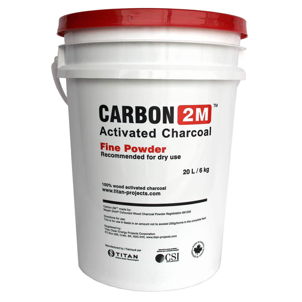 Carbon 2M™ Activated Charcoal (Fine) - 6 kg