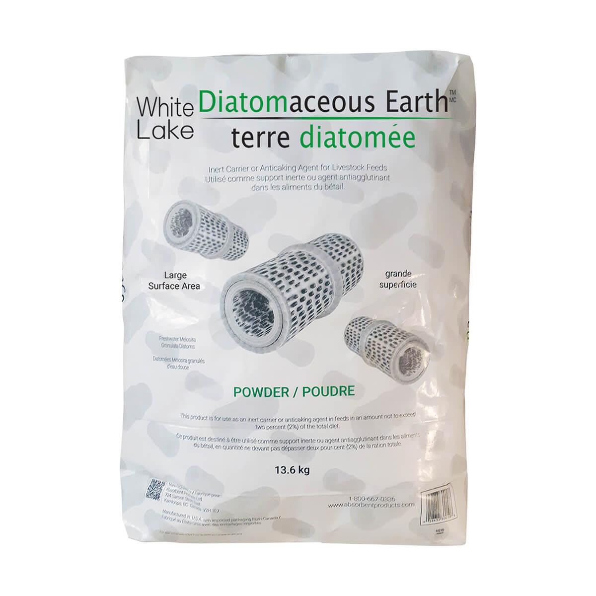 White Lake Diatomaceous Earth - 30 lb