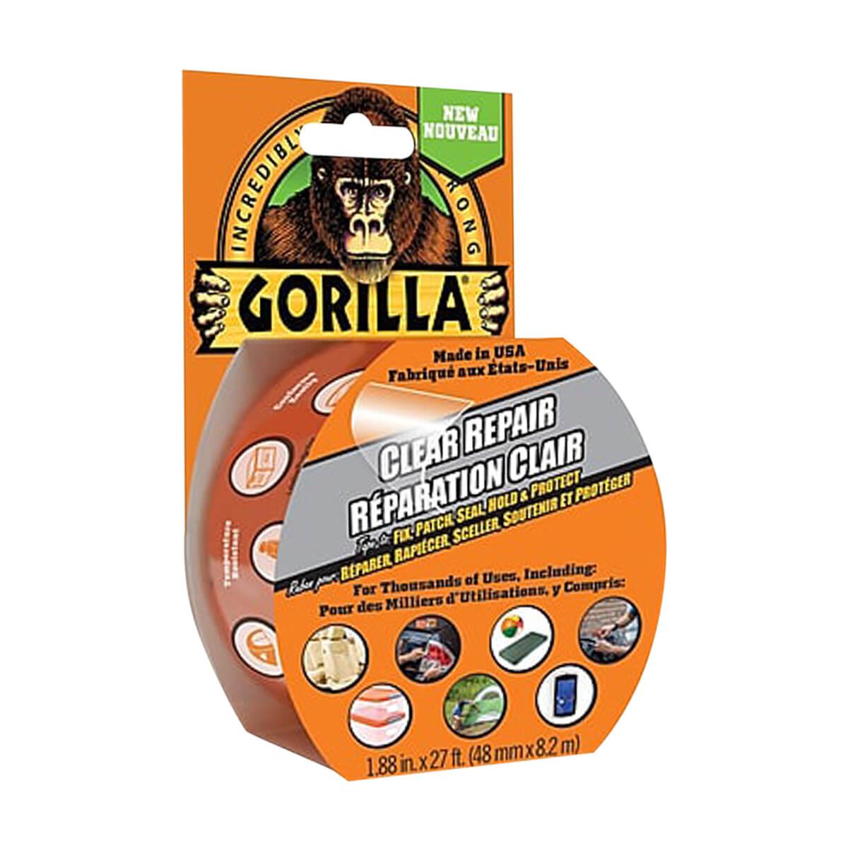 Gorilla Clear Repair Tape - 9yd
