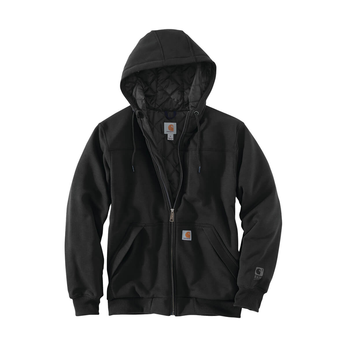 Rain Defender® Rockland Quilt-Lined Full-Zip Hooded Sweatshirt