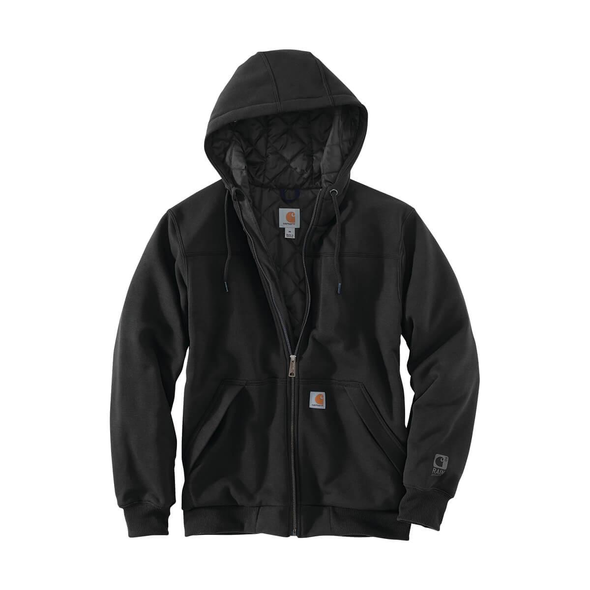 Carhartt Rain Defender® Rockland Quilt-Lined Full-Zip Hooded Sweatshirt