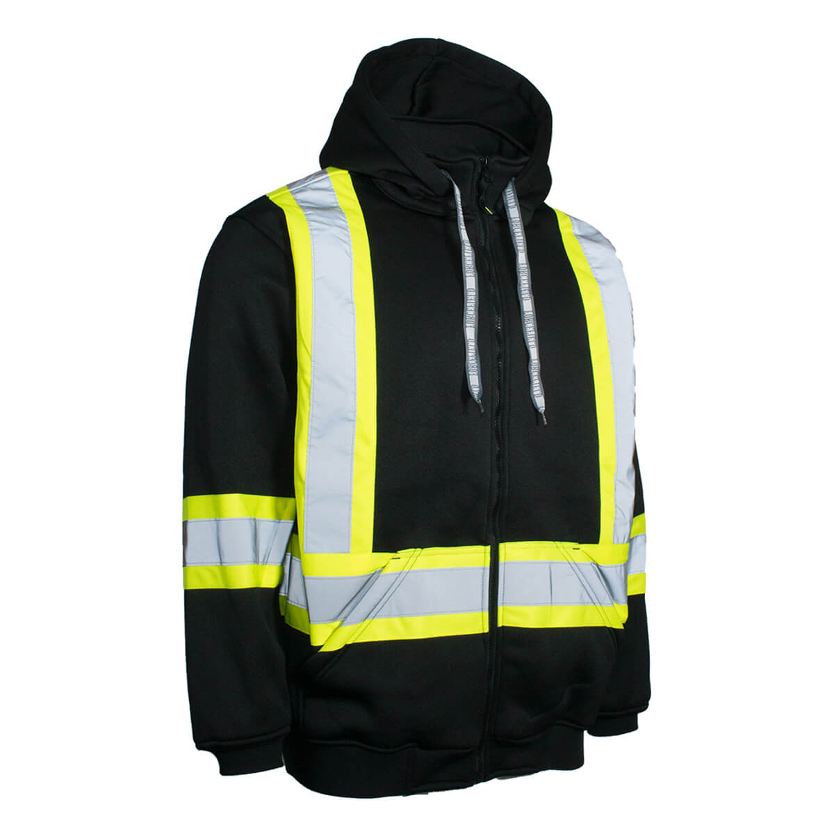 Forcefield Reflective Hoody With Removable Hood