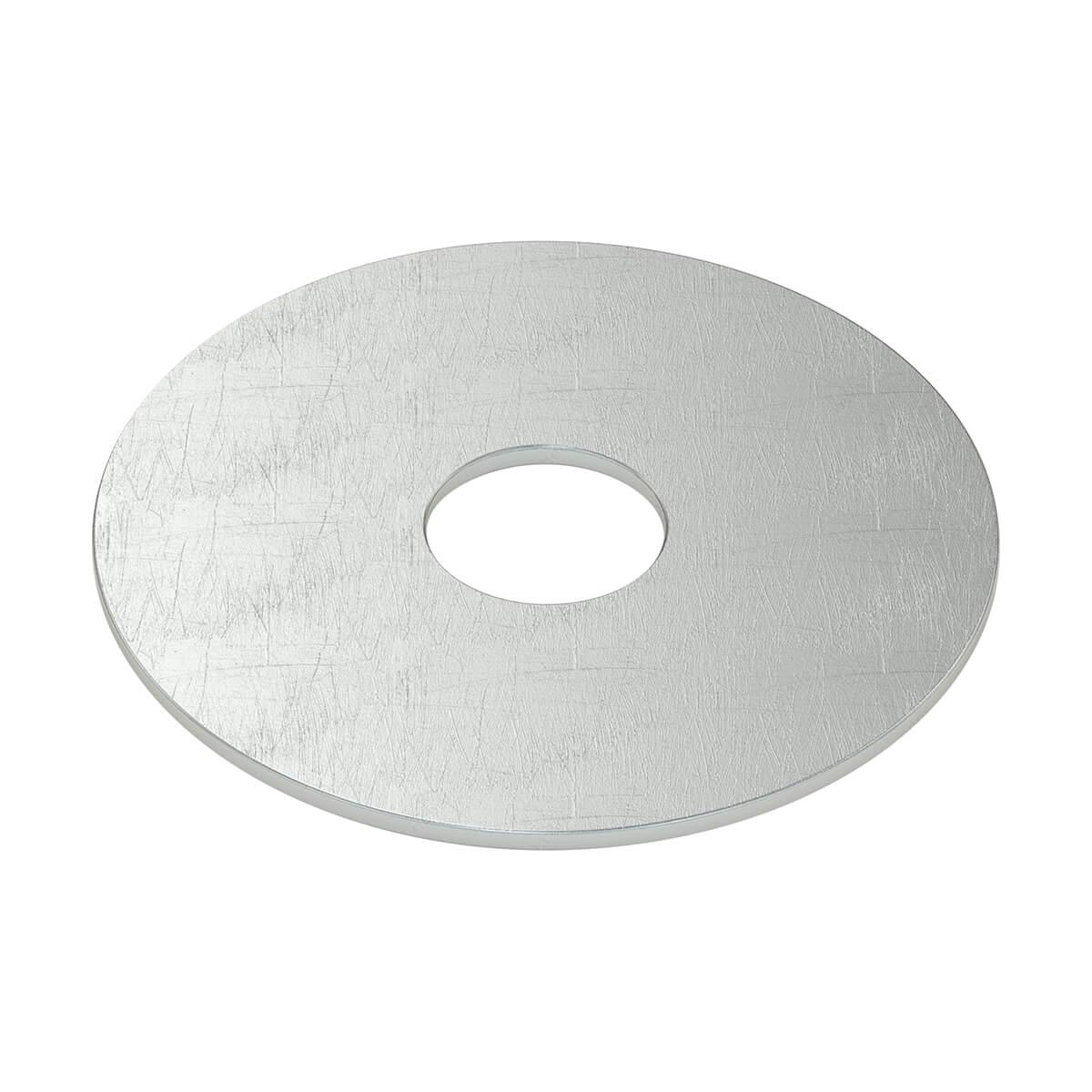 "Flat Washer - Steel - Fender - 1/4"" - 5/Box"