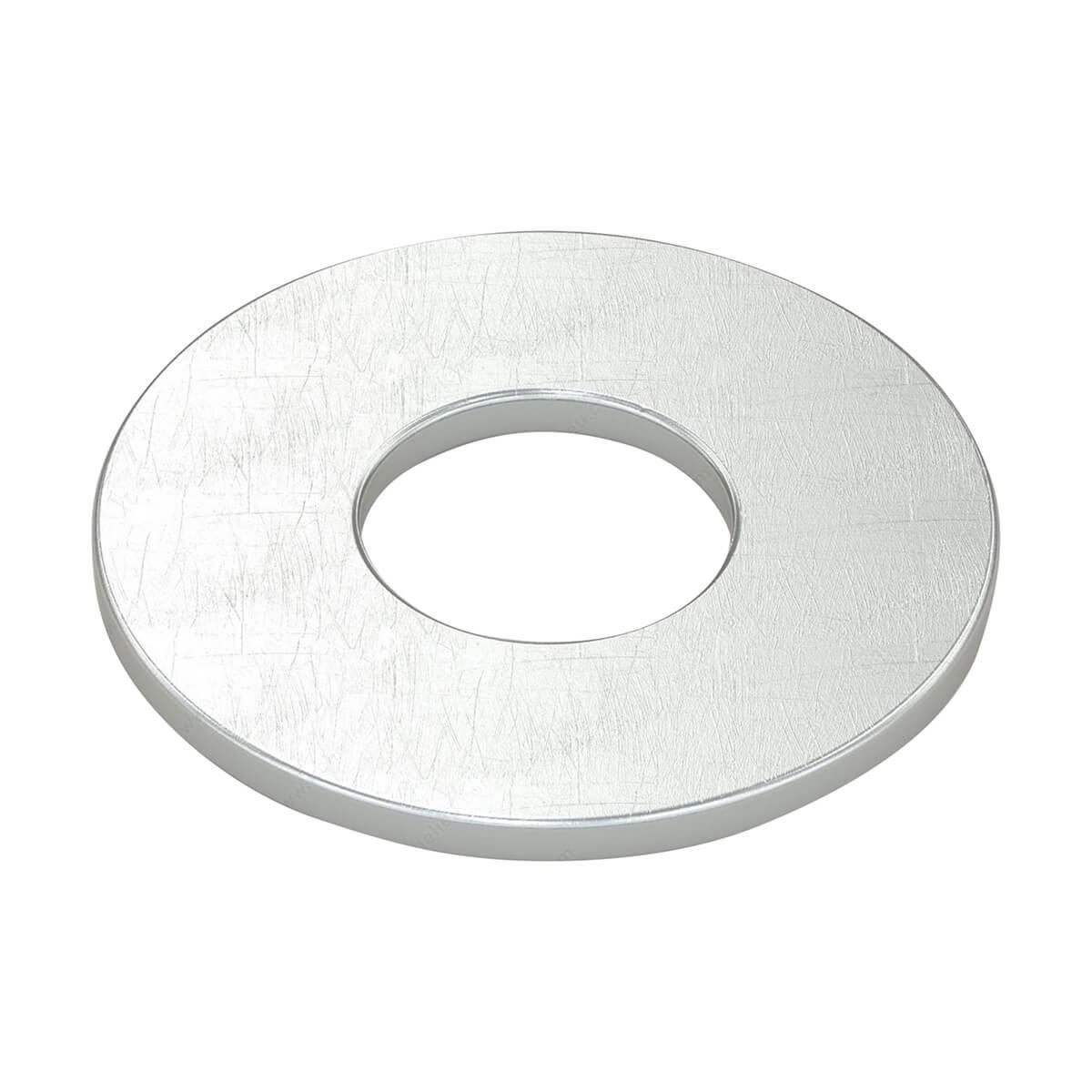Flat Washers - Steel - 1/4-in - 16 / Box