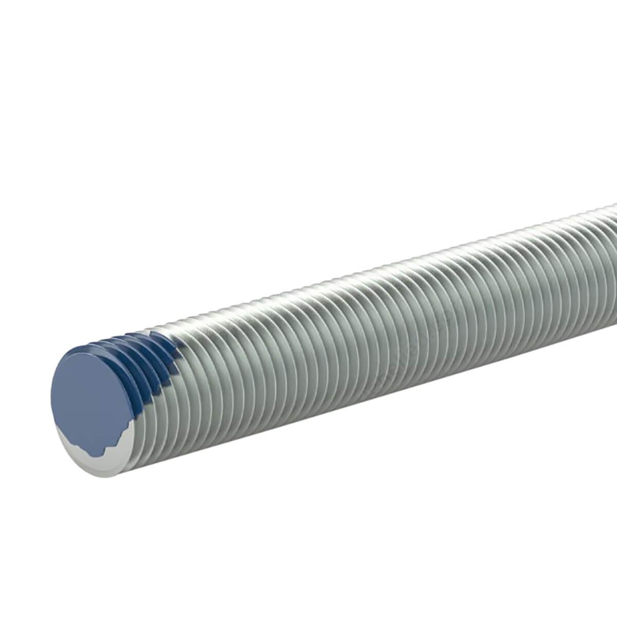 """Threaded Rod - Blue Tip - 1/4""""-20 - 36"""""""