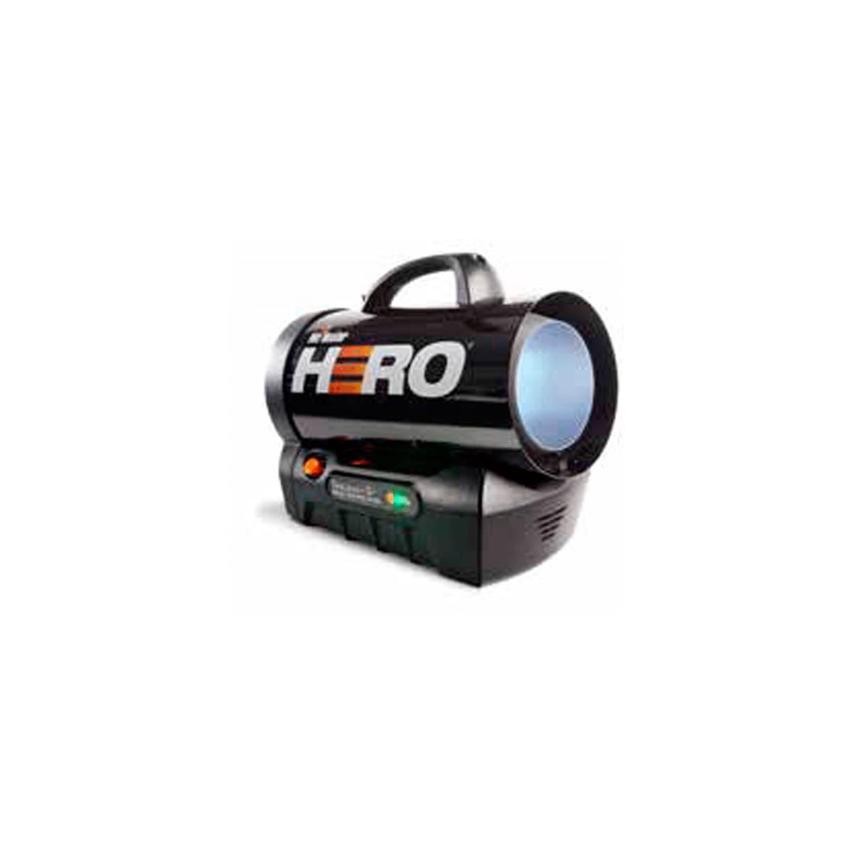 Hero Cordless Propane Forced Air Heater