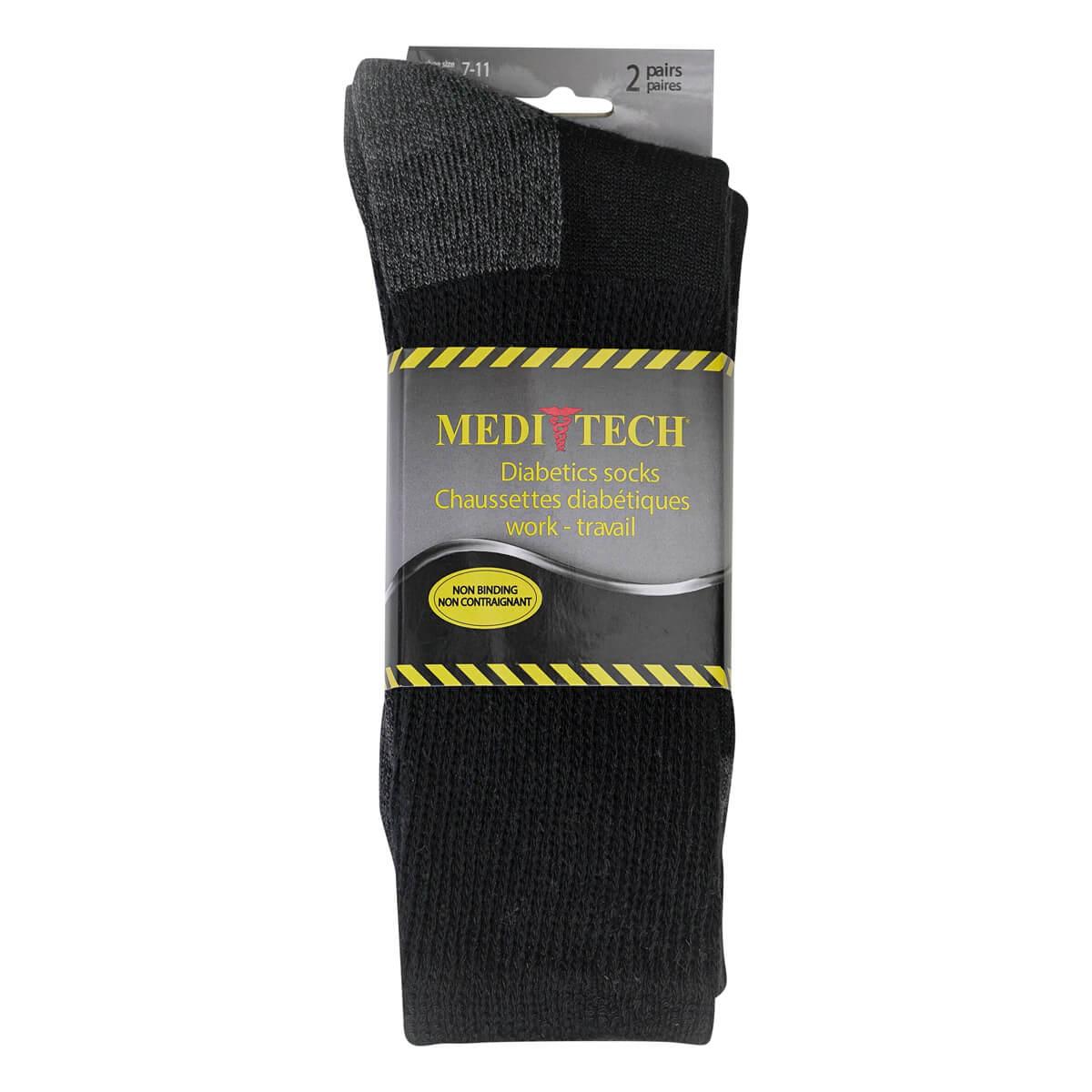 Men's Diabetic Cotton Work Sock