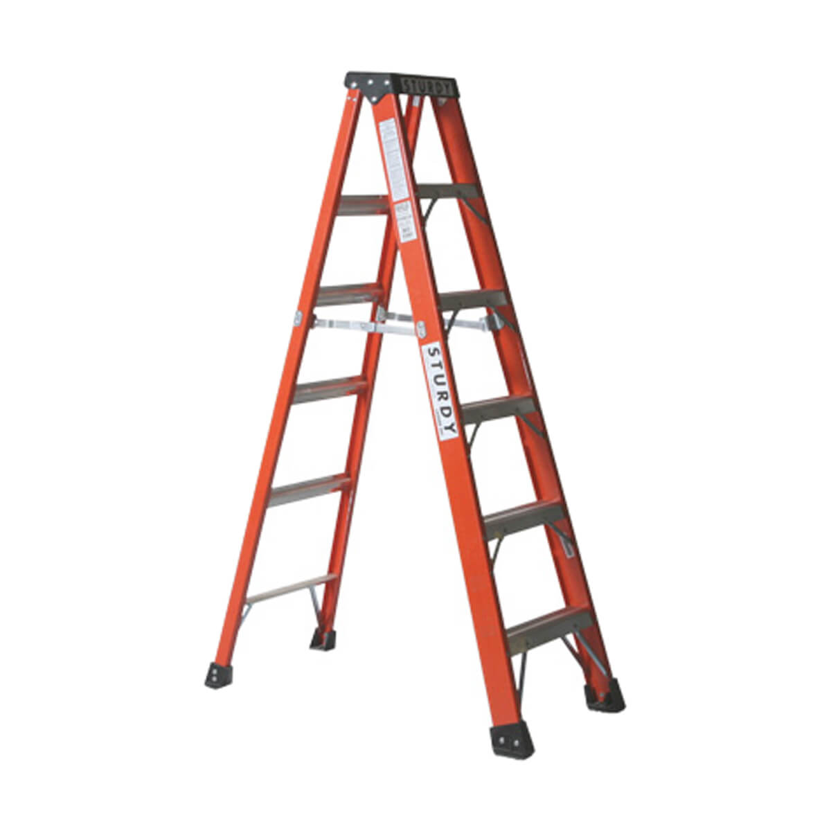 Aluminum Step Ladder - 6-ft