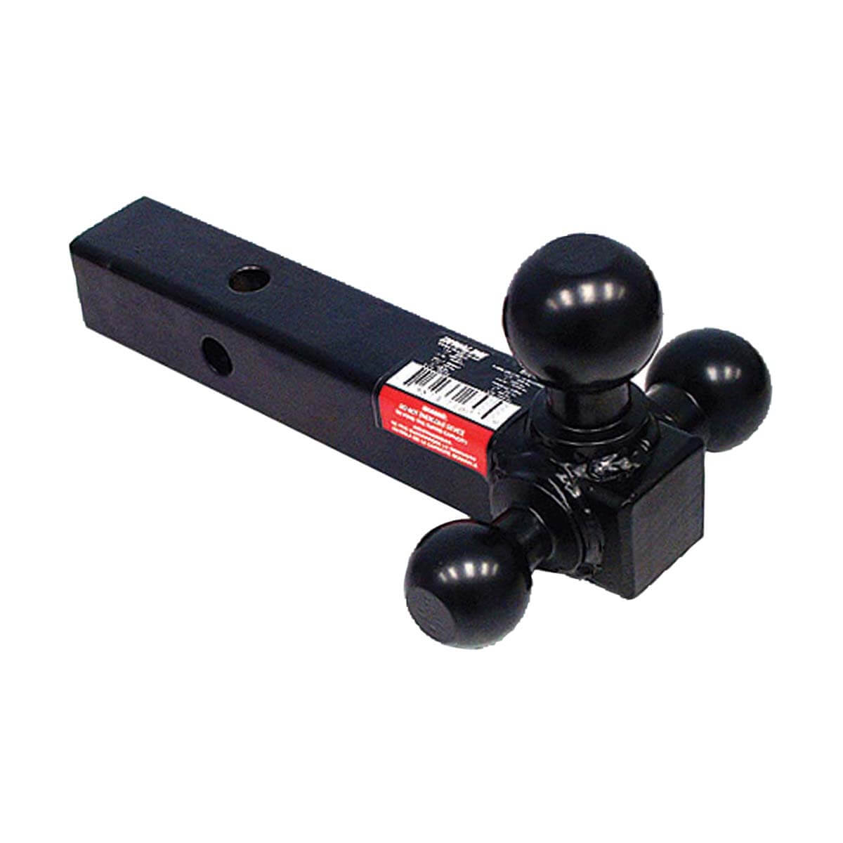 Triple Ball Mount Solid-Square