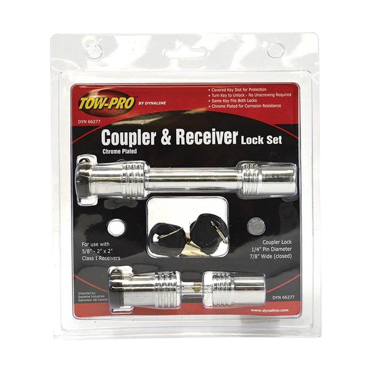 Coupler & Receiver Lock Set