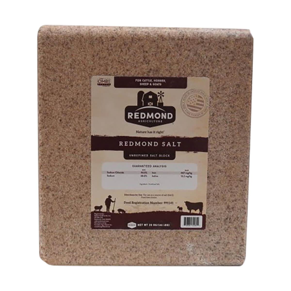 Redmond All Natural Salt Block - 20 kg
