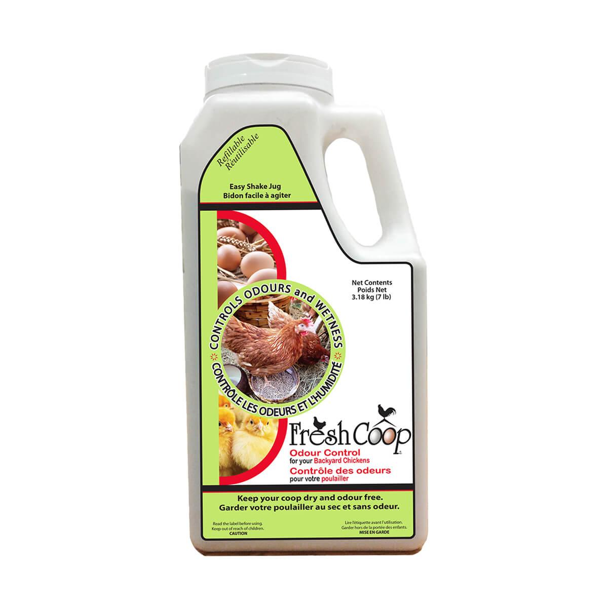 Fresh Coop Poultry Deodorizer - Odour Control - 7lb