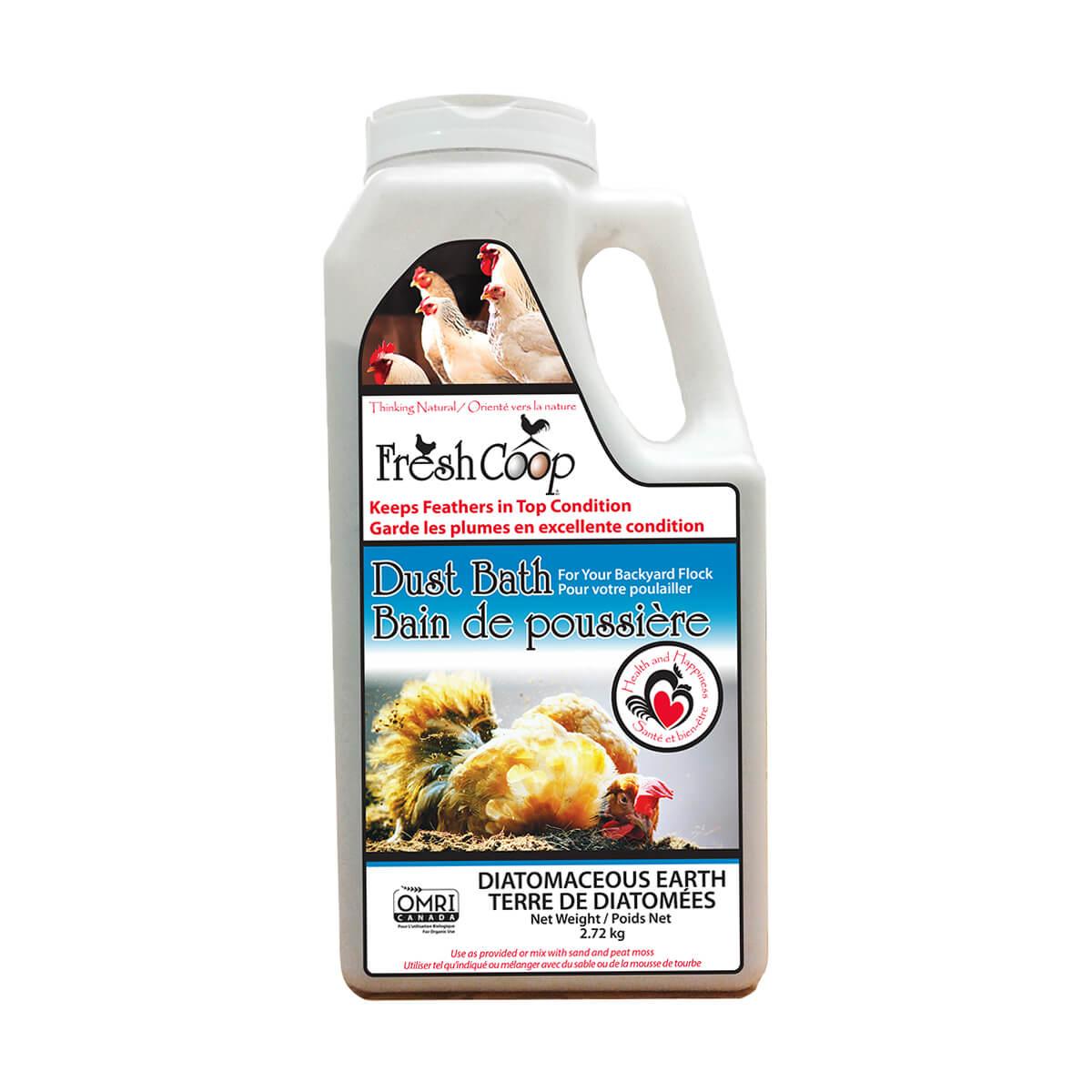 Fresh Coop Poultry Dust Bath - 6lb