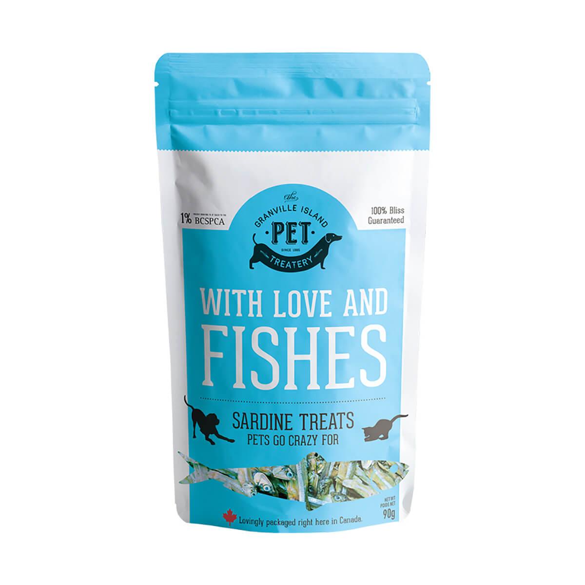 Sardine Treats for Cats - 90 g