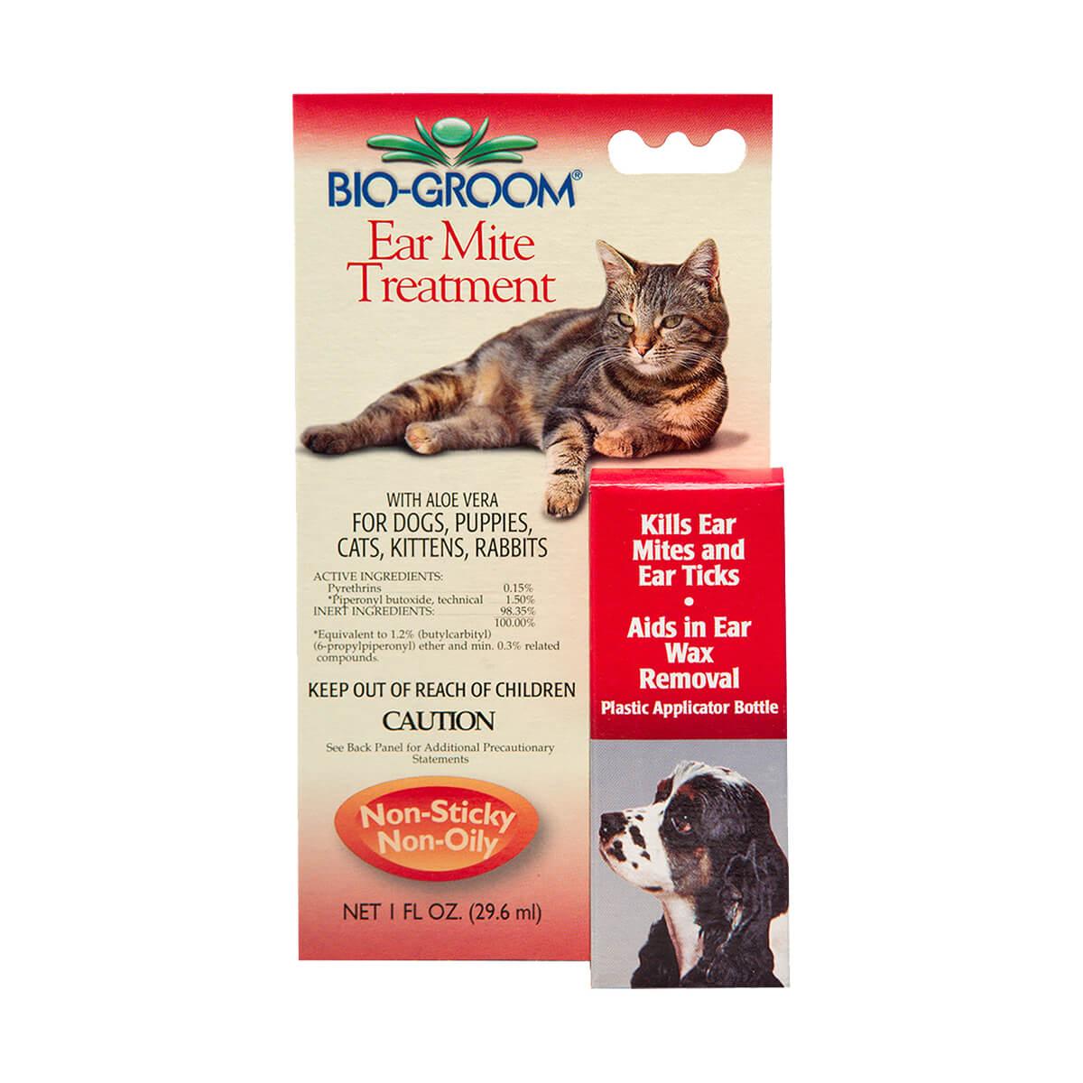 Bio-groom Ear Mite Treatment for Dog and Cat DD7368 - 29ml
