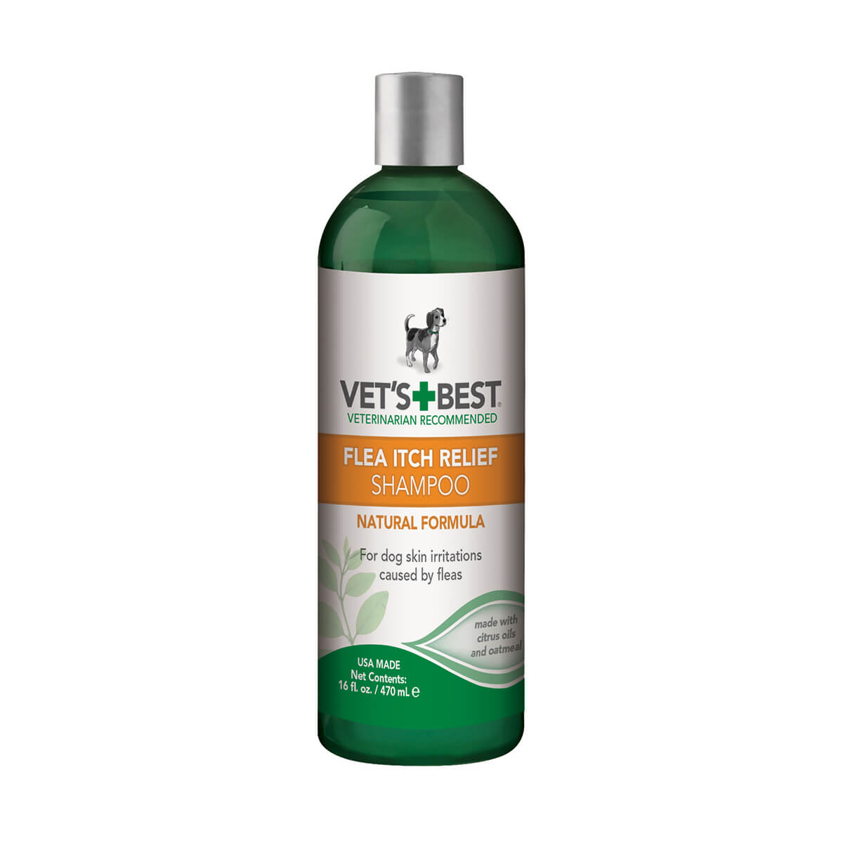 Vet's Best Flea Itch Relief Shampoo for Dogs - 16oz