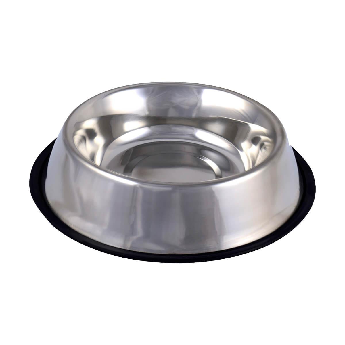 Stainless Steel Bowl - Non-Skid - 64oz