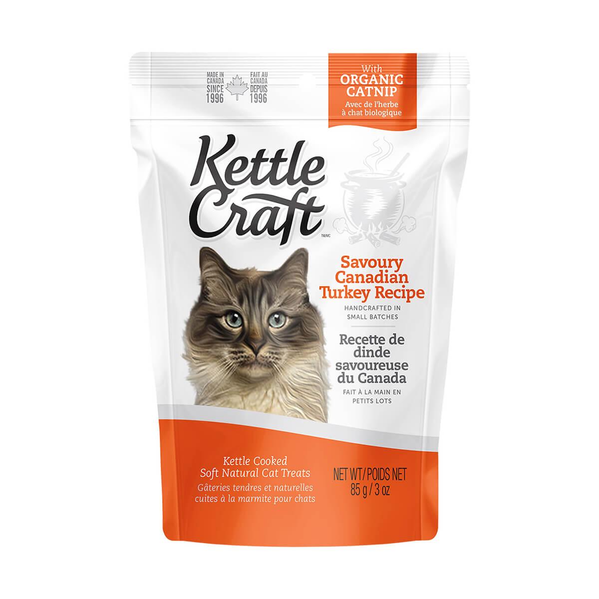 Kettle Craft Turkey Recipe Cat Treats - 85 g