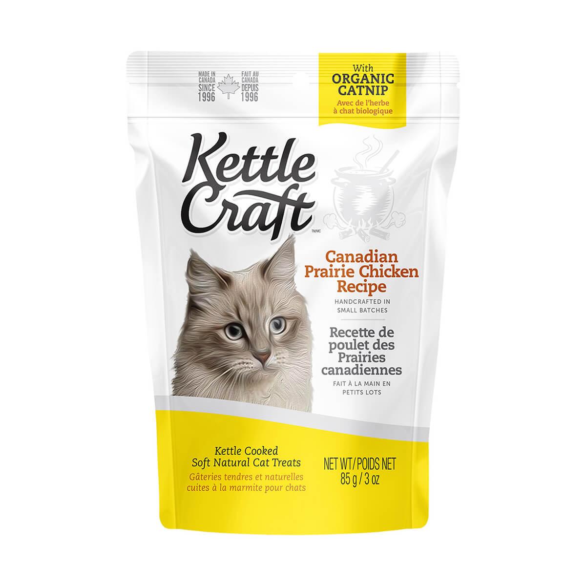 Kettle Craft Chicken Recipe Cat Treats - 85 g