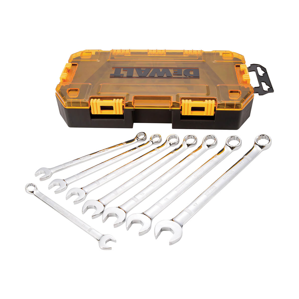 Combination Wrench Set - Metric - 8 Piece