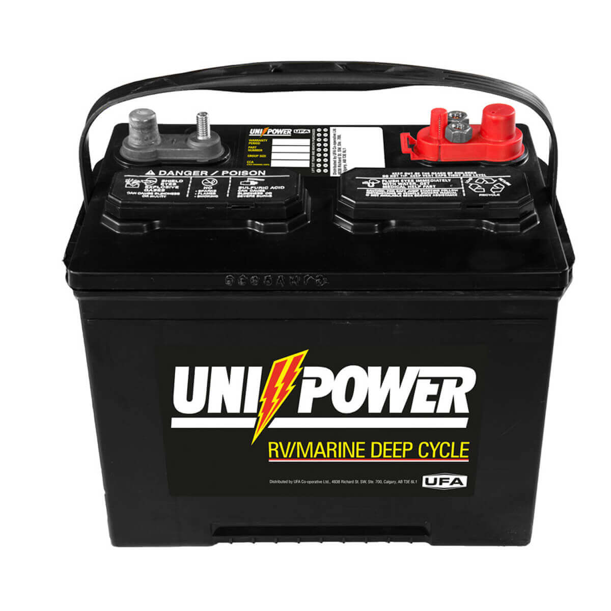Uni-Power Deep Cycle Battery - 8-24MP