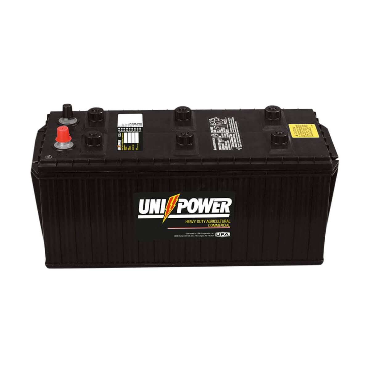 Heavy Duty Commercial 6 Volt Battery - 7-4P